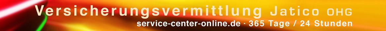 Versicherungsvermittlung Jatico OHG | service-center-online.de | 365 Tage / 24 Stunden